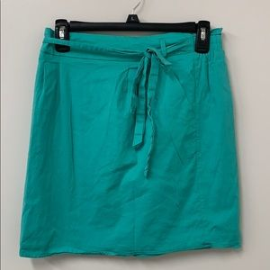 Teal Francescas Skirt